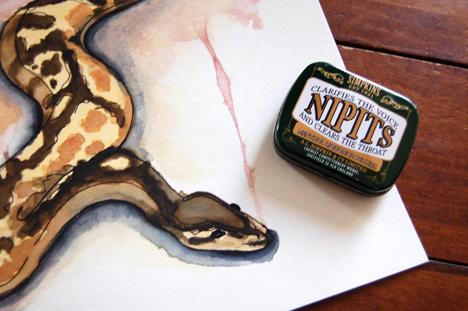 ilustracion-acuarela-animales-serpiente