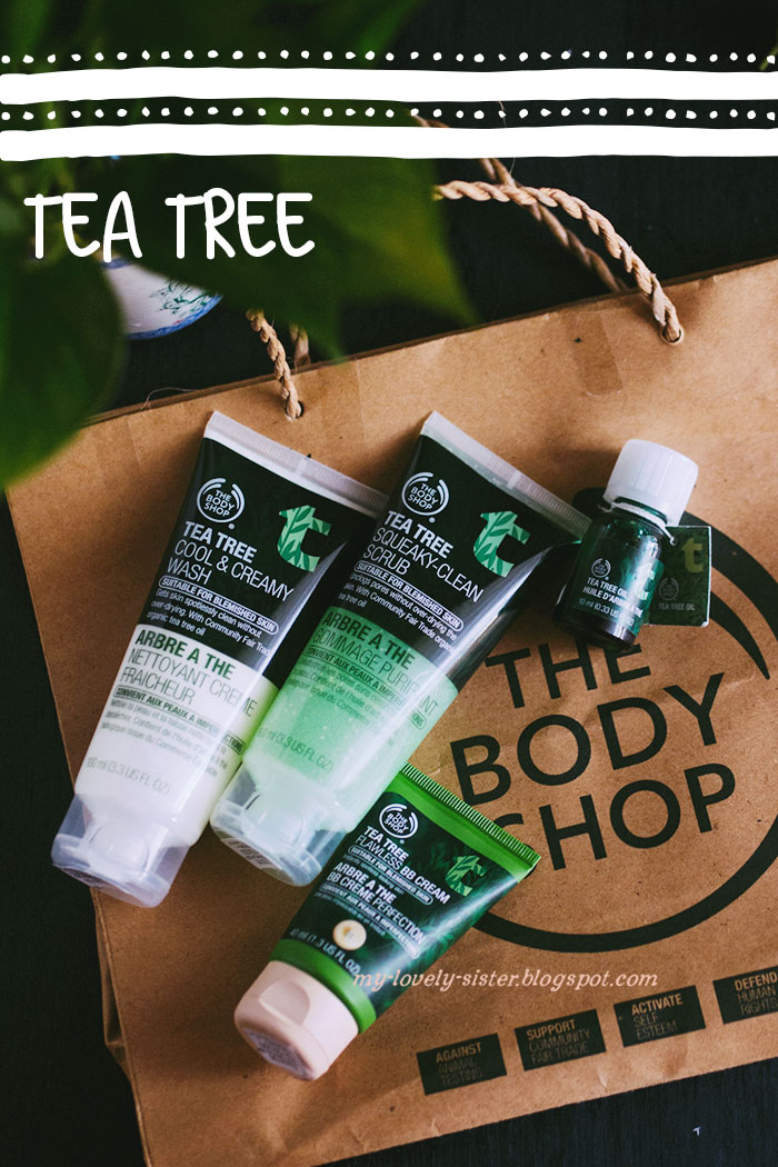 My Lovely Sister ♥ a blog with love: Review The Body Shop - Tea Tree