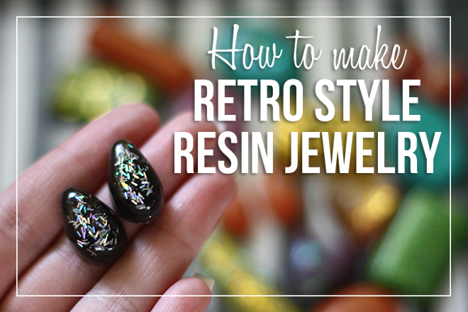 How To Make Retro Style Resin Jewelry by grimmricksen
