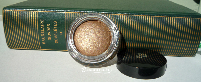 Lancome Hypnose Dazzling Eyeshadow in Brun Bibliotheque: review, photos, swatches