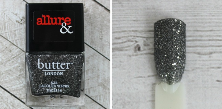 Allure & Butter London Arm Candy Nail Lacquer Collection review swatches DISCO NAP