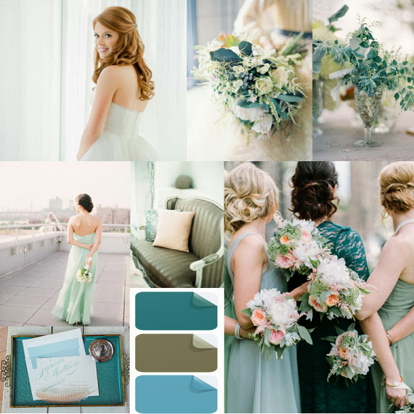 Wedding Trends For 2014: Lazy Blogger: Pantone Color 2014 : Hemlock, Radiant Orchid