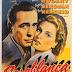 CASABLANCA (1942). Humphrey Bogart e Ingrid Bergman inmortalizan un clásico.