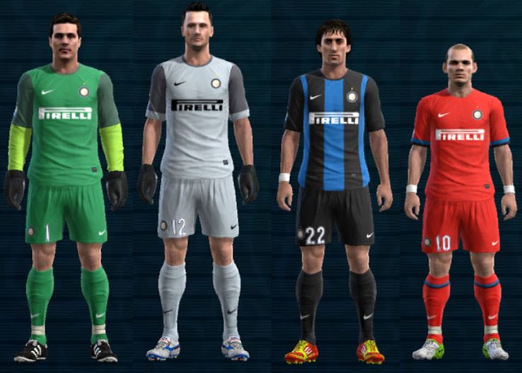 PES 2012 Inter 12 13 Kit Set by Ramz