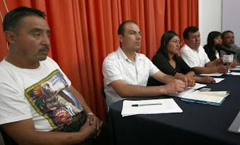 Pobladores de Atenco: crece el despojo de tierras por megaobras