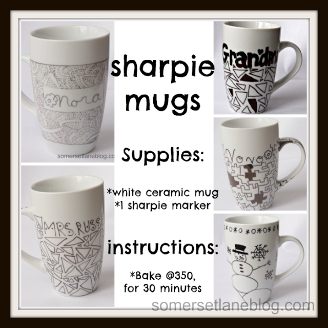 Gifts to Give - Sharpie Mugs
