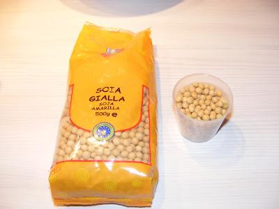 soia gialla per latte soia
