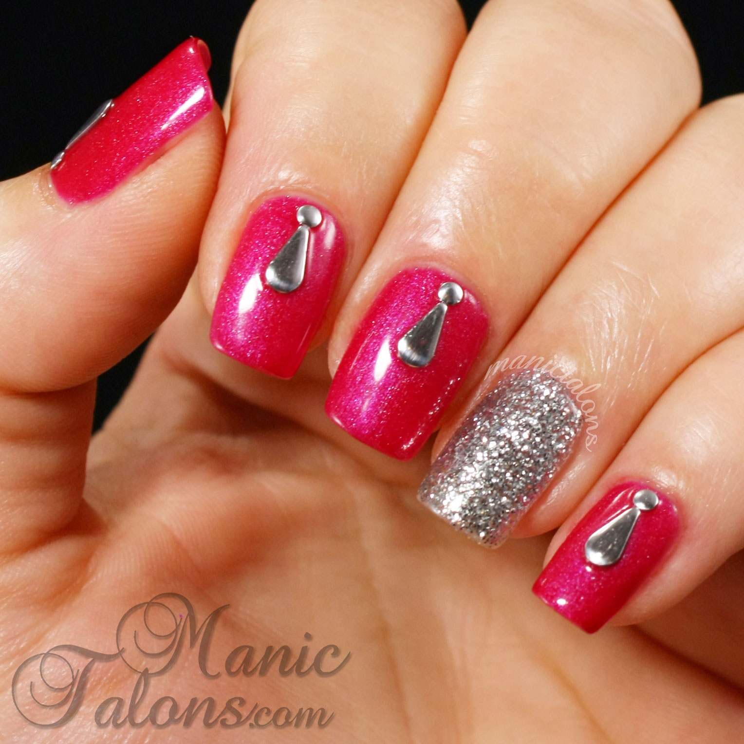 Couture Gel Polish Nail Art