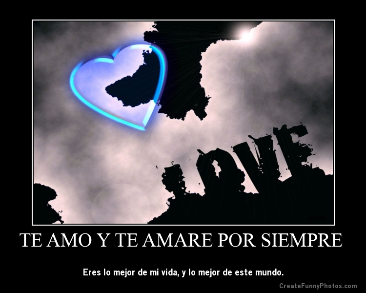 y yo te amare te amare por siempre letra: