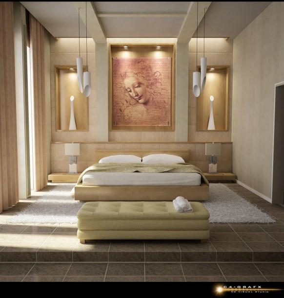 Atractivos Disenos De Habitaciones Decorar Tu Habitacion - Diseos-de-habitaciones