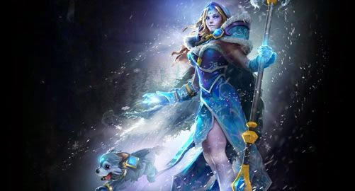 Crystal Maiden - Frost Avalanche