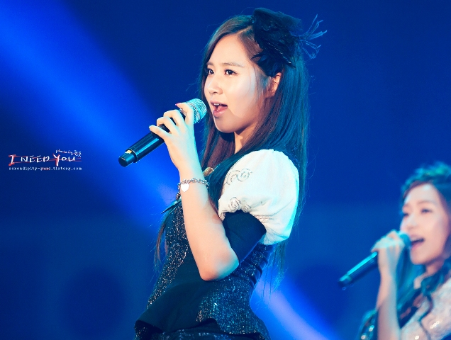 Girls' Generation Yuri at Yeosu Expo 2012