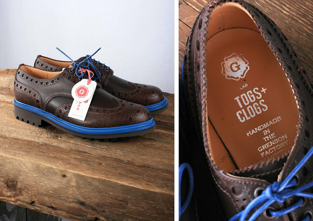 grenson x togs and clogs collaboration, grenson archie brogue, grenson g lab hypebeast video, brown brogues, handmade shoes made in england, hypebeast santiago arbelaez videographer, tim little grenson, hand crafted video, mens traditional shoes, menswear fashion