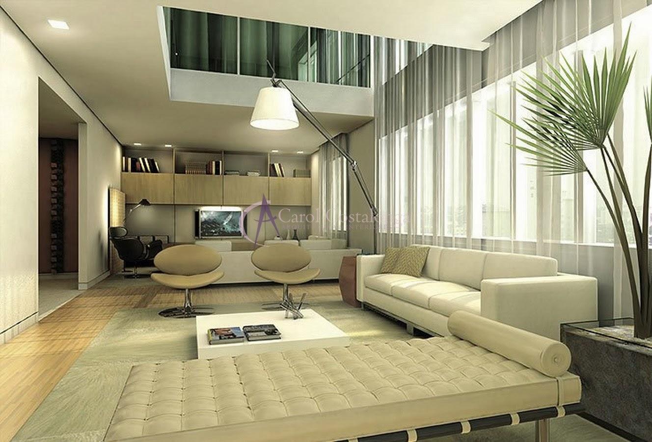 Veja mais modelos de decorações de casas com pé direito duplo: #8D743E 1328 900