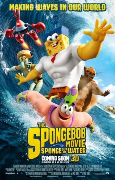 Trailer dan Poster Terbaru The SpongeBob Movie