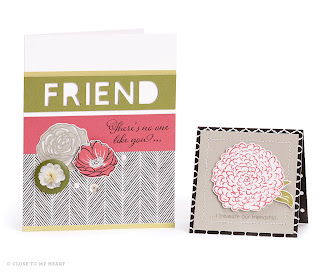 CTMH La Vie En Rose Cards and Scrapbook Layouts