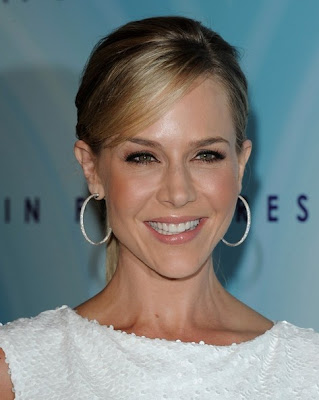 Julie Benz Sterling Hoop Earrings