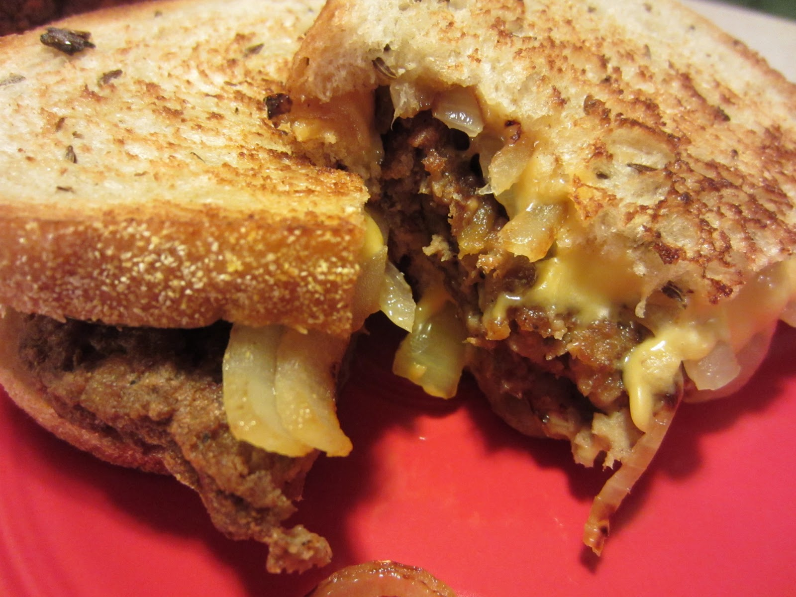 Lighter Classic Patty Melt: All the taste of the classic with less ...