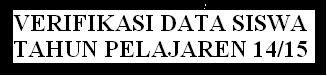 Data Isian Siswa