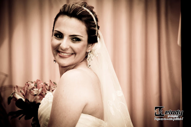 Confira algumas fotos do casamento de Patrícia e Rodrigo, que