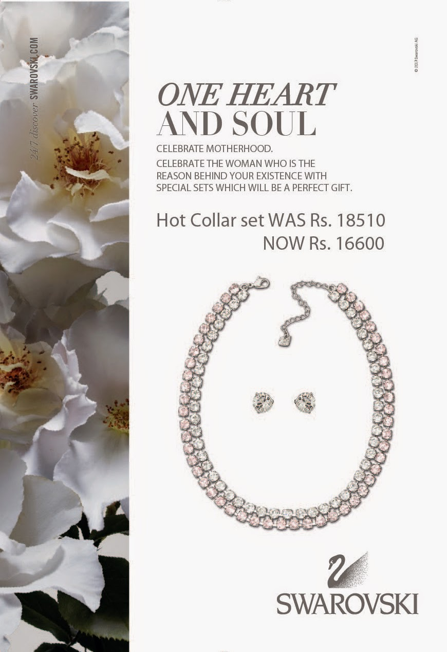 Make a statement of feminine sophistication with this refined, rhodium-plated collar. It features two rows of Vintage Rose and clear crystals. Sparkling in nude tones, this Hot Collar set is easy to combine with almost any dress or elegant outfit.