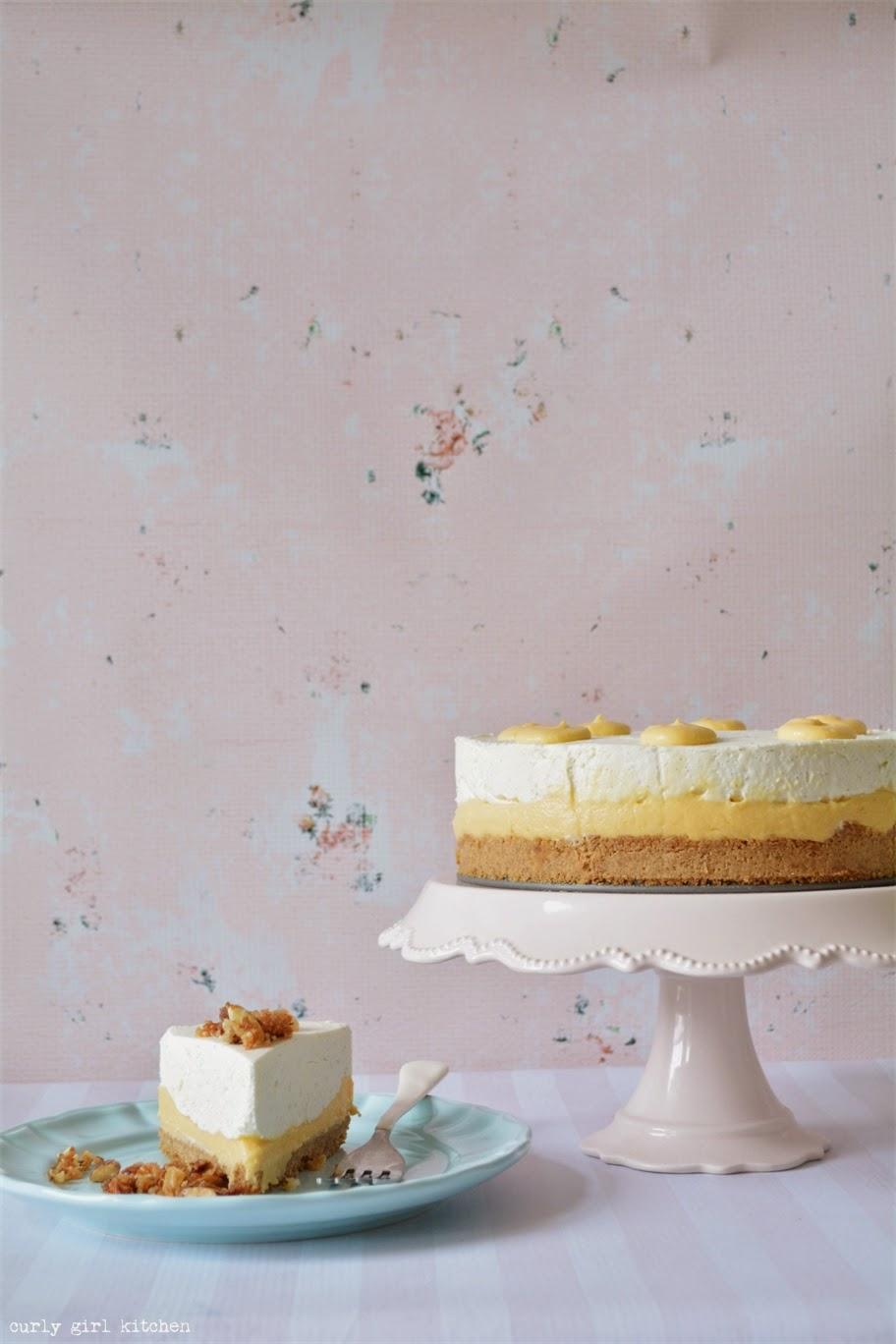 Curly Girl Kitchen: Vanilla Bean Cheesecake with Mango ...