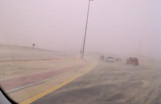 """""""Dubai_cyclone_rumor_sandy_road_image"""""""