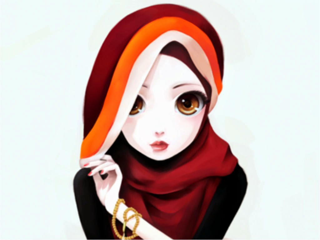 Wallpaper Muslimah Cute  Deloiz Wallpaper
