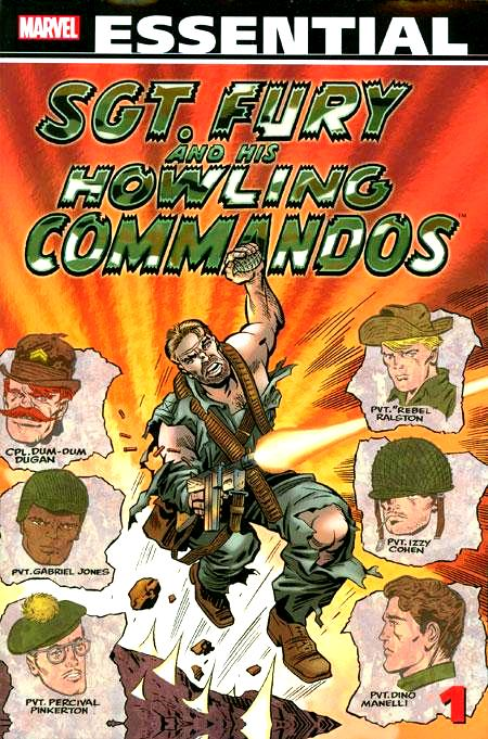 Essential Sgt. Fury and His Howling Commandos, v. 1 cover