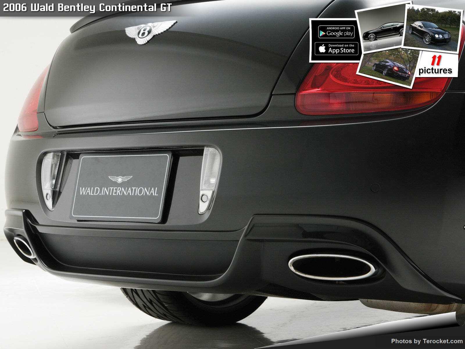Hình ảnh xe độ Wald Bentley Continental GT 2006 & nội ngoại thất