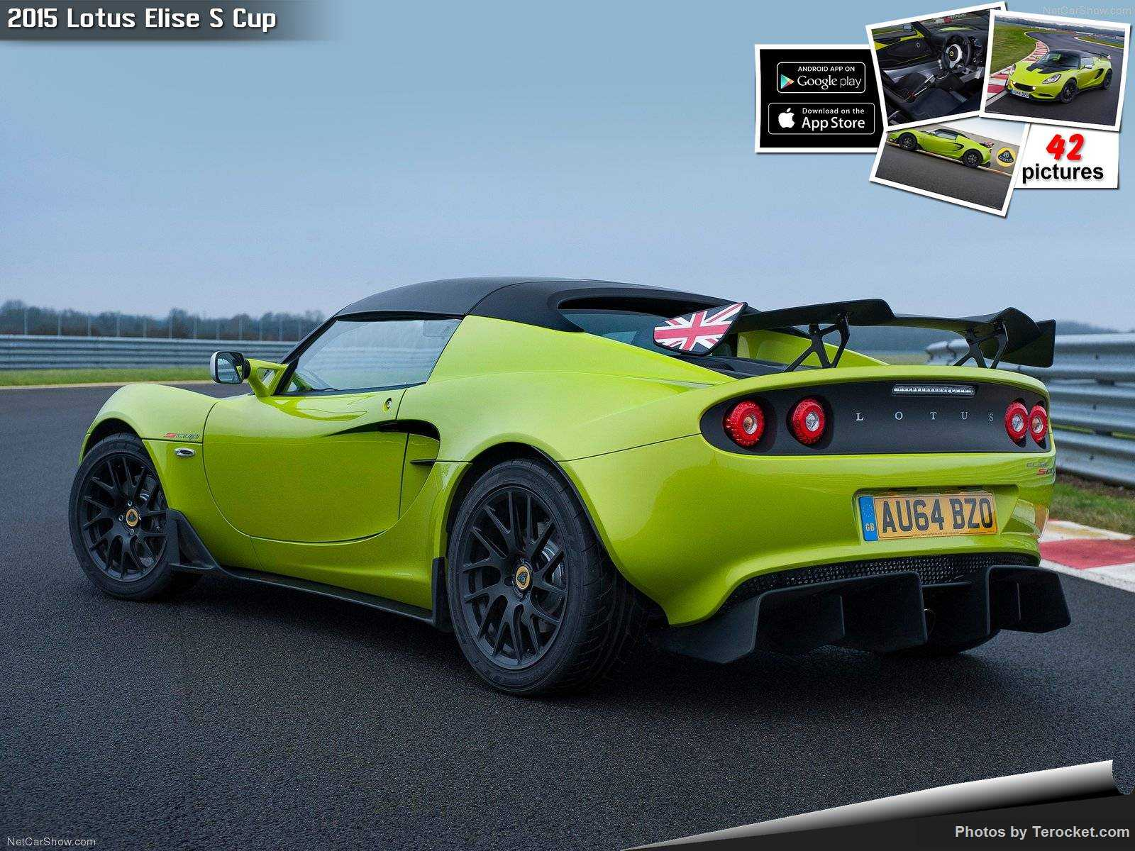 Hình ảnh siêu xe Lotus Elise S Cup 2015 & nội ngoại thất