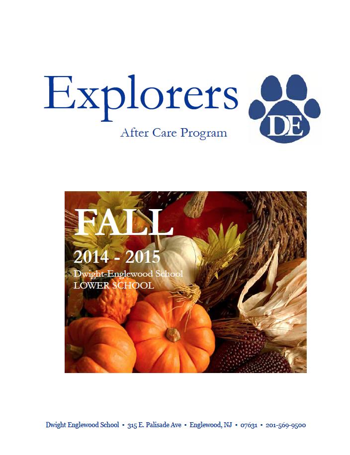 Register for our After Care Program