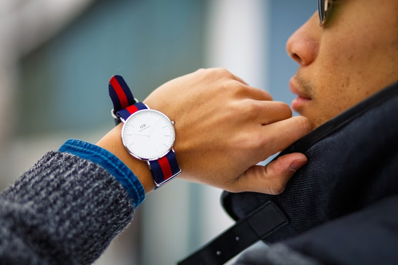 Mens Fashion Gap H&M Daniel Wellington Watch