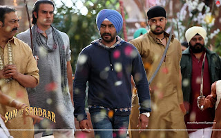 Son Of Sardaar HD Wallpaper Ajay Devgn Bichdann Song
