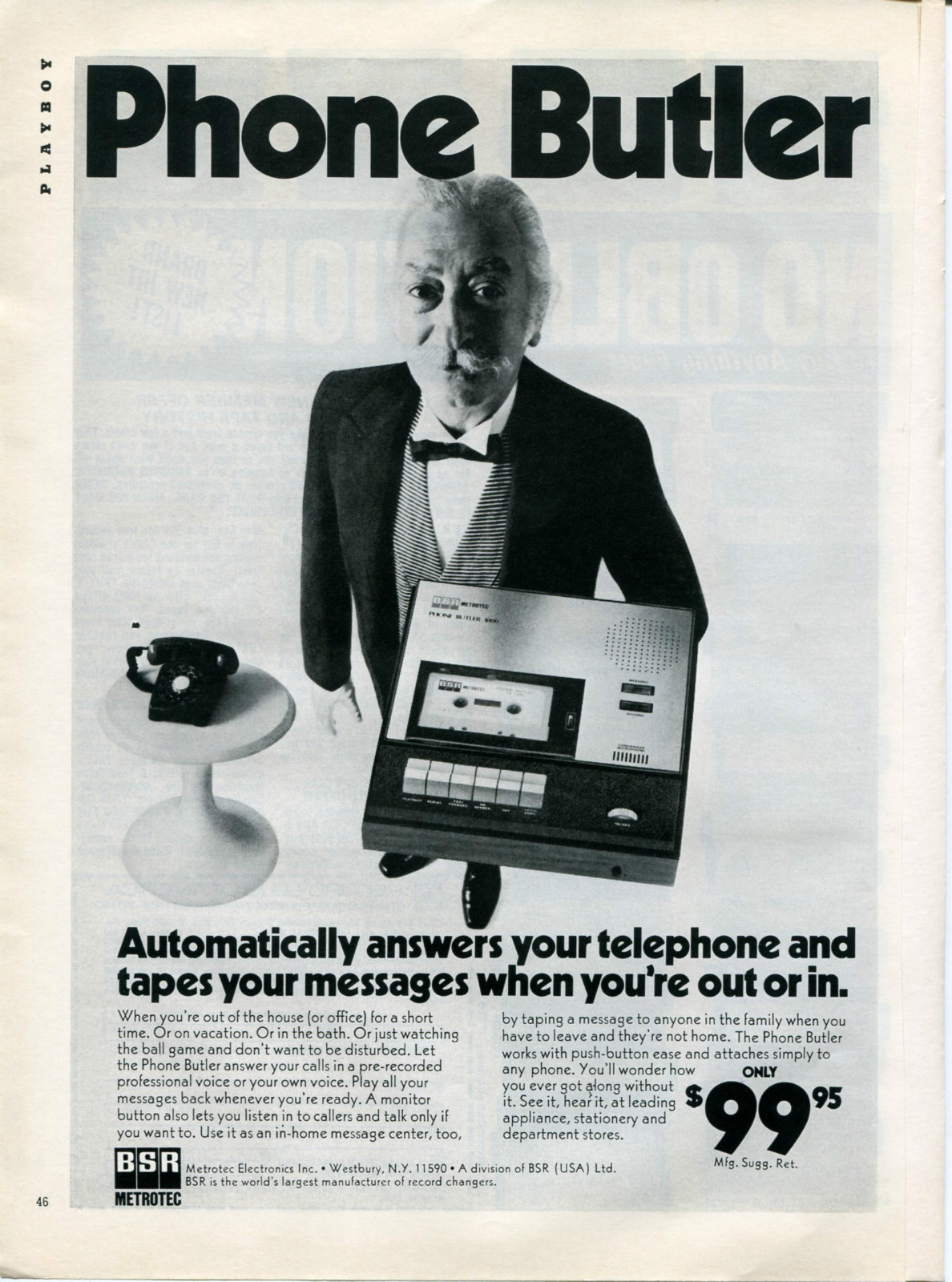 automatic telephone answering machine thesis
