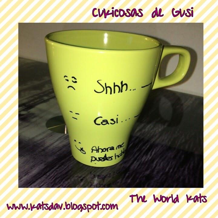The world kats taza para el desayuno for Tazas para desayuno
