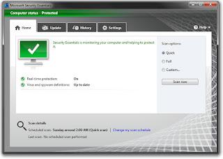 Microsoft Security Essentials 4.0.1526.0