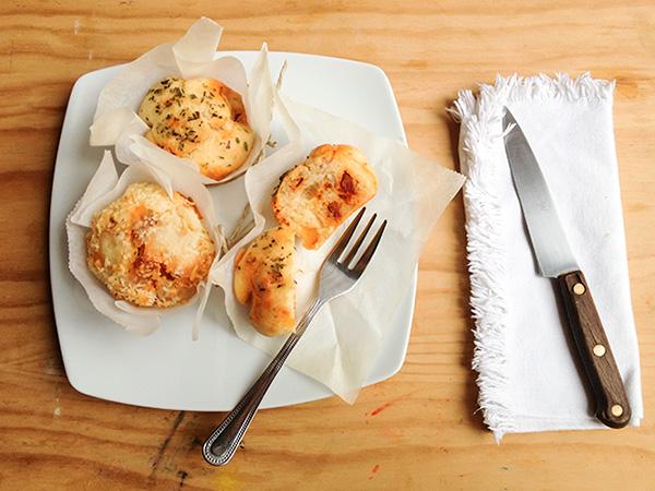 muffins salados de chorizo receta