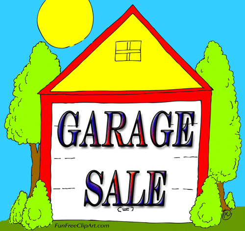 Garage Sale Sign Fun Free Clip Art