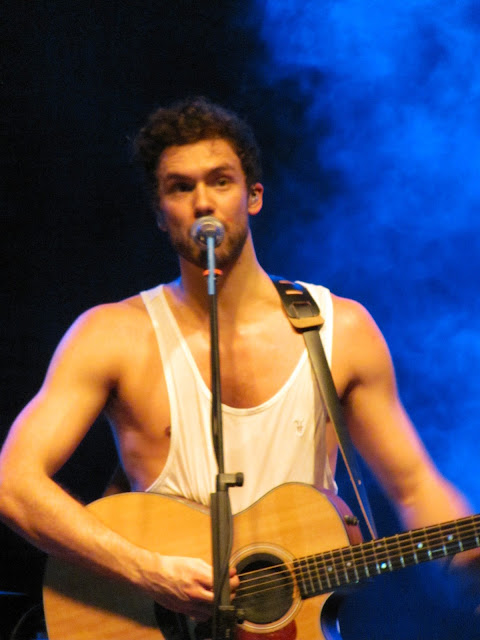 Andy Brown of Lawson performing in Toronto