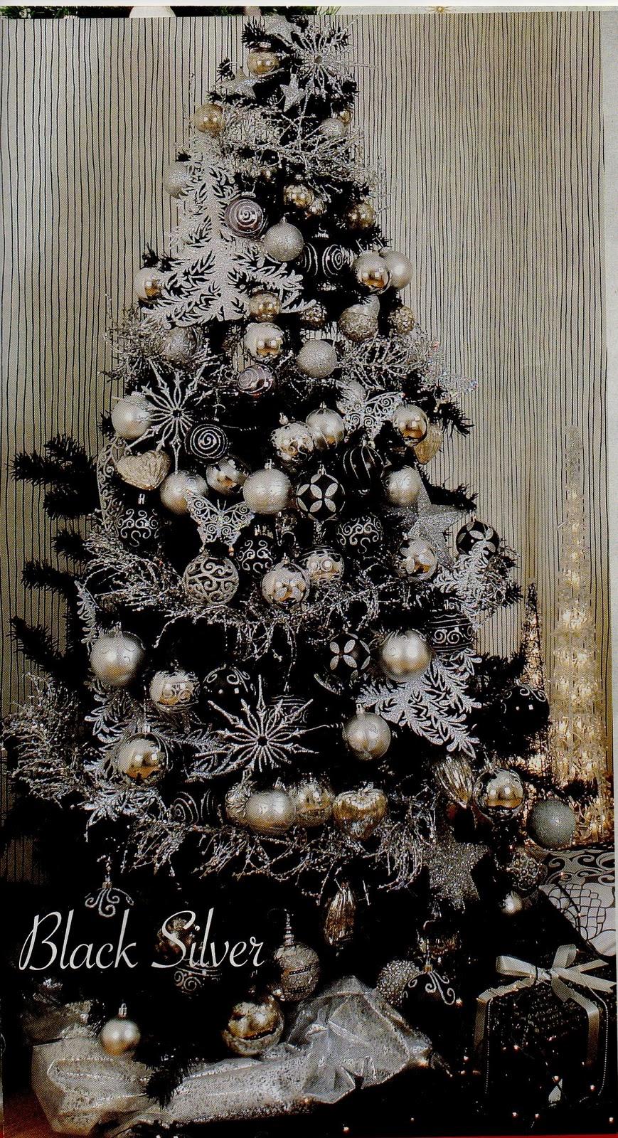 decoracao de arvore de natal azul e prata : decoracao de arvore de natal azul e prata:Liga das Acácias: História e significado da árvore de Natal
