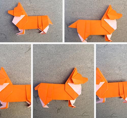 DIY Origami Corgi