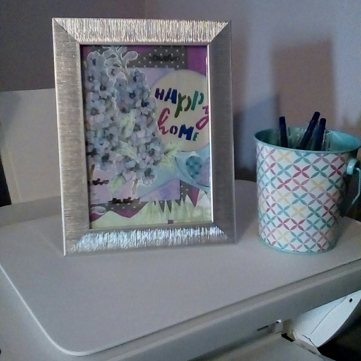 Happy Home framed paper-craft