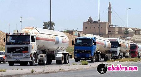 truk minyak ISIS