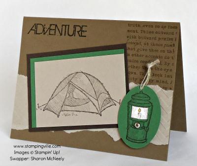 Adventure Masculine Card