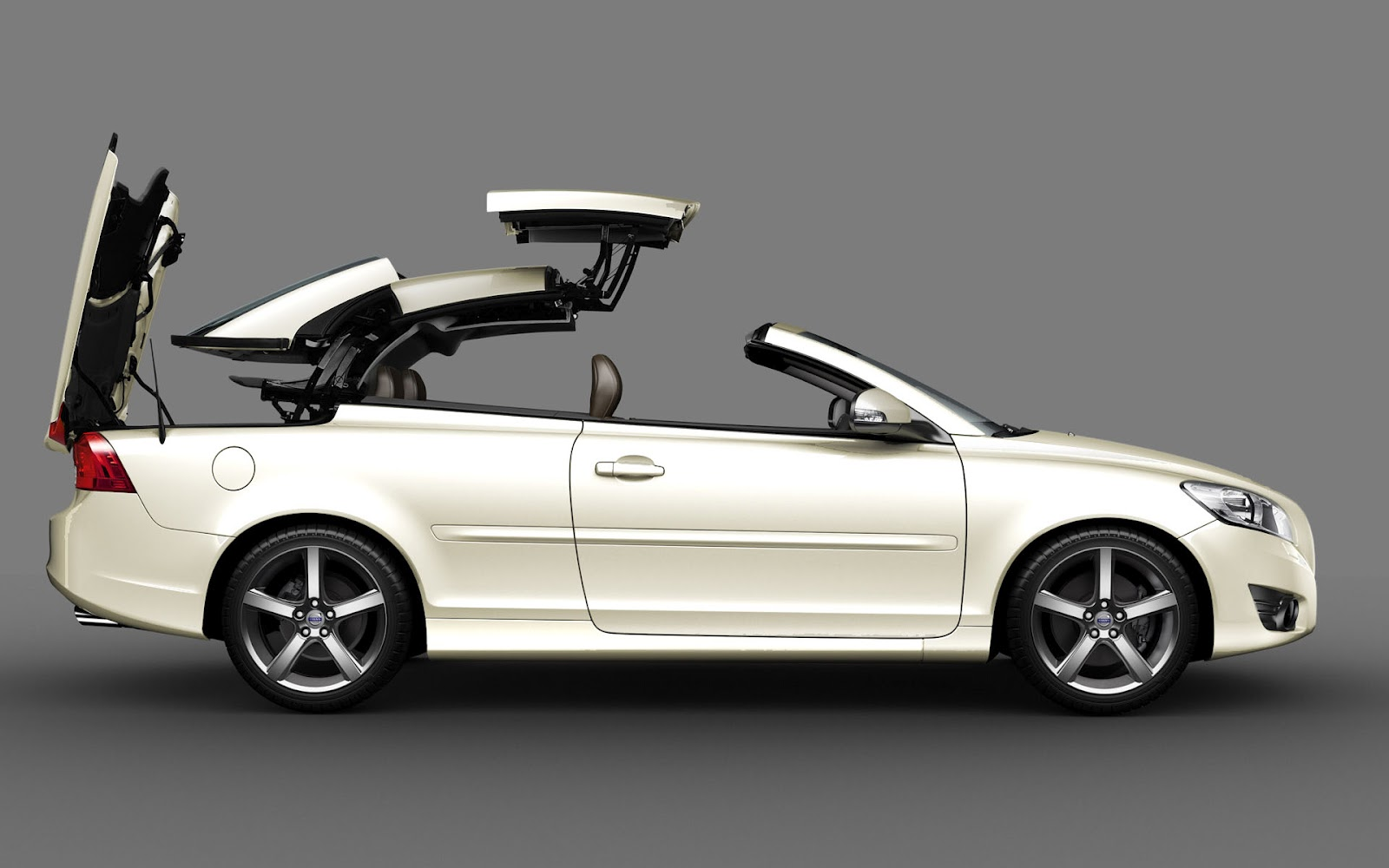 Volvo C70 Convertible White 2017 2018 Best Cars Reviews
