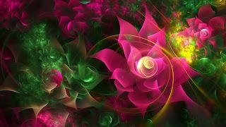 Fotos de flores en 3D
