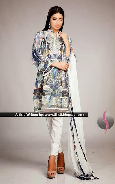 Luxury Summer Eid Collection 2015