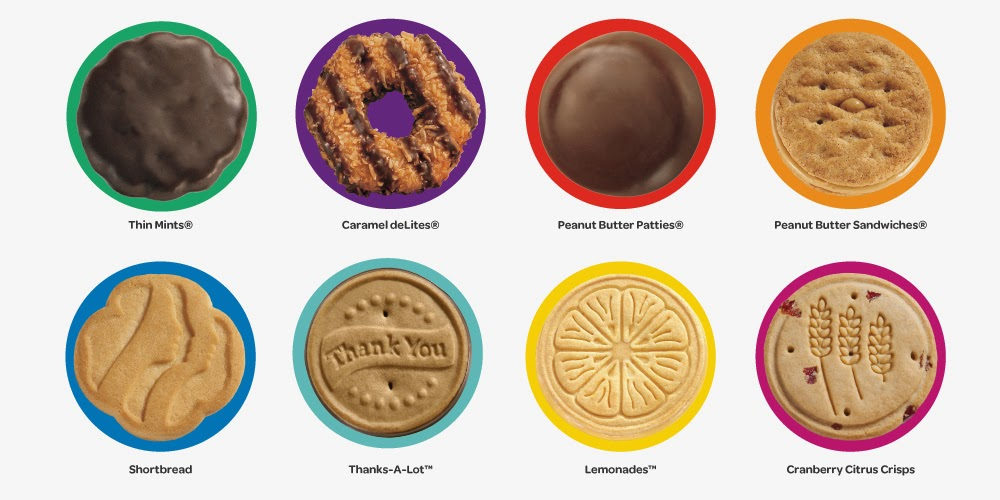 Girl scout cookies order