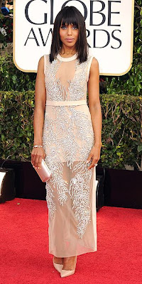 Kerry Washington, Miu Miu, Golden Globes, fashion, red carpet